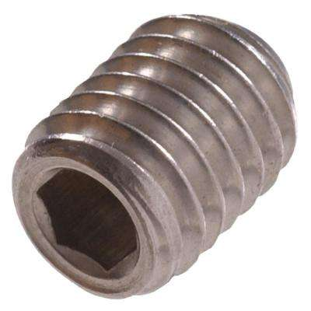 M4-0.70 x 6 Stainless-Steel Socket Set Screw (10-Pack)