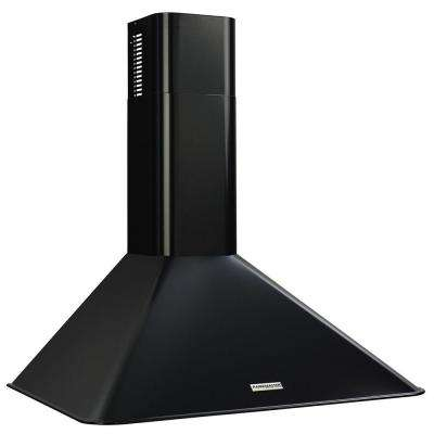 Elite RM50000 30 in. Convertible Wall Mount Range Hood with Light in Black