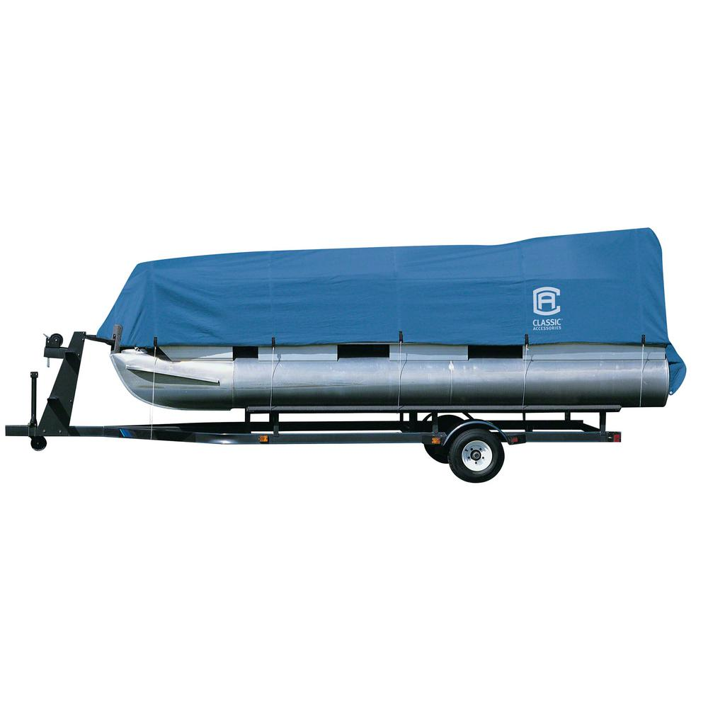 Classic Stellex 21 ft. to 24 ft. Pontoon Boat Cover