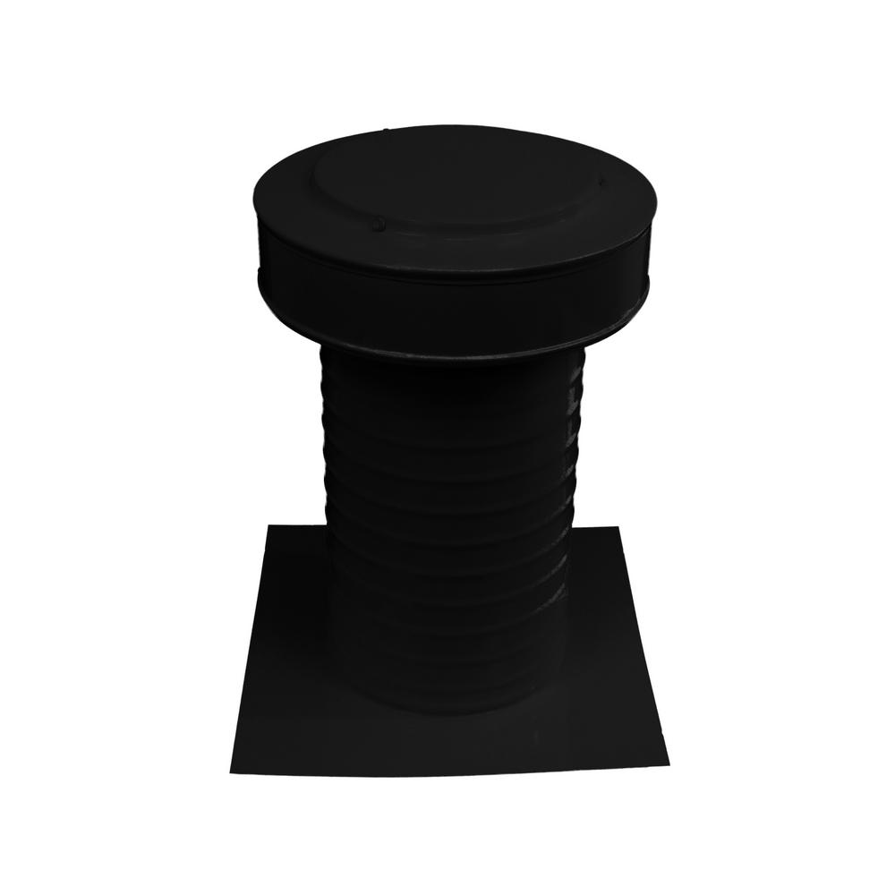 7 in. Dia Keepa Vent an Aluminum Static Roof Vent for