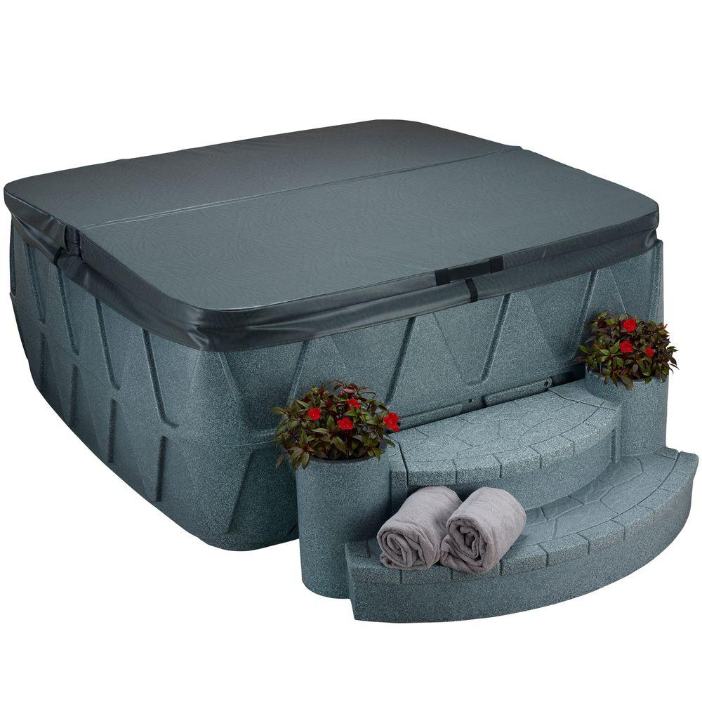 AquaRest Spas AR-500 Replacement Spa Cover - Charcoal