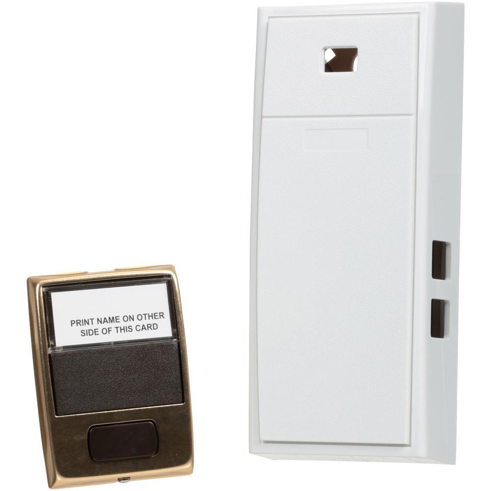 2-Note Mechanical Door Bell with Door Button