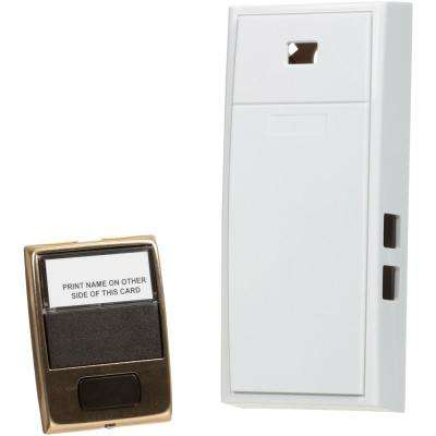 2-Note Mechanical Door Bell with Door Button