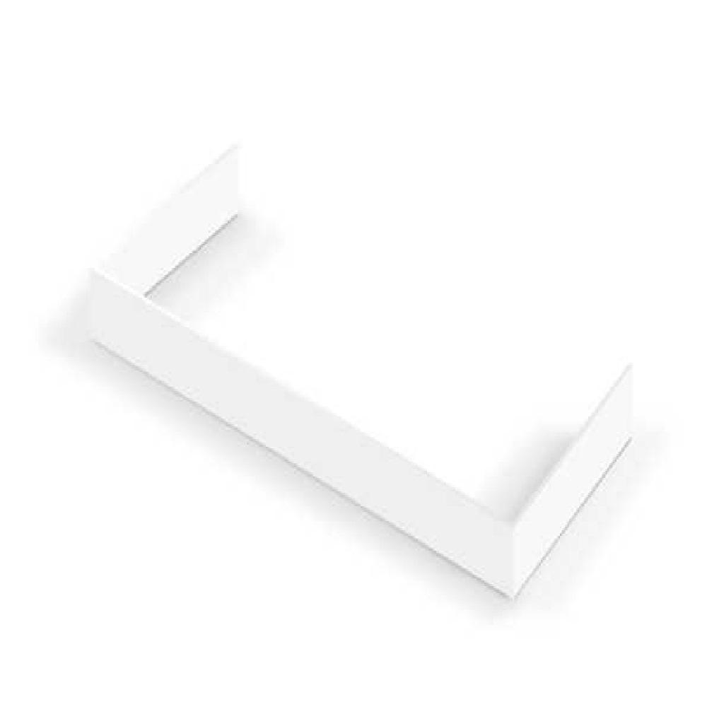 Hallman Decorative Toe Kick for 48 in. Range in White