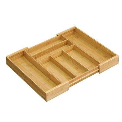 DaPur Natural Bamboo Drawer Organizer
