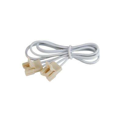 Jane LED Tape 72 in. White Connector Cord