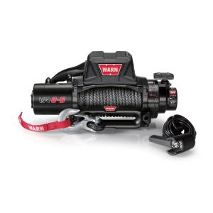 Warn VR8-S 8,000 lb. Winch with Synthetic Rope by Warn