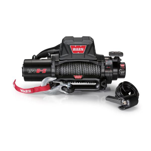 Warn VR8-S 8,000 lb. Winch with Synthetic Rope