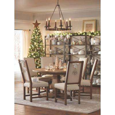 Home Decorators Collection Andrew Antique Walnut Dining Chair (Set of 2) by Home Decorators Collection