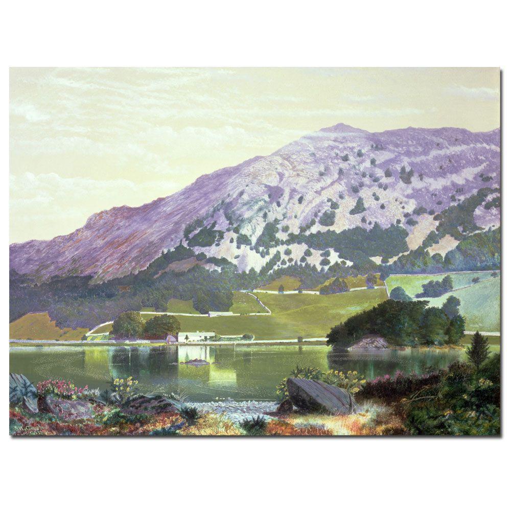 Trademark Fine Art 26 in. x 32 in. Spanish Landscape Canvas Art