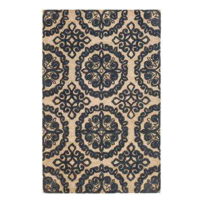 Eirene Blue 8 ft. x 10 ft. Area Rug