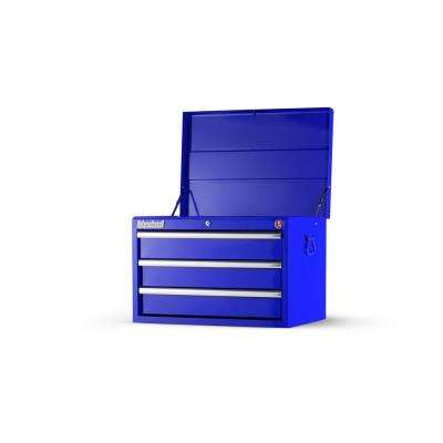 Workshop Series 27 in. 3-Drawer Top Chest in Blue