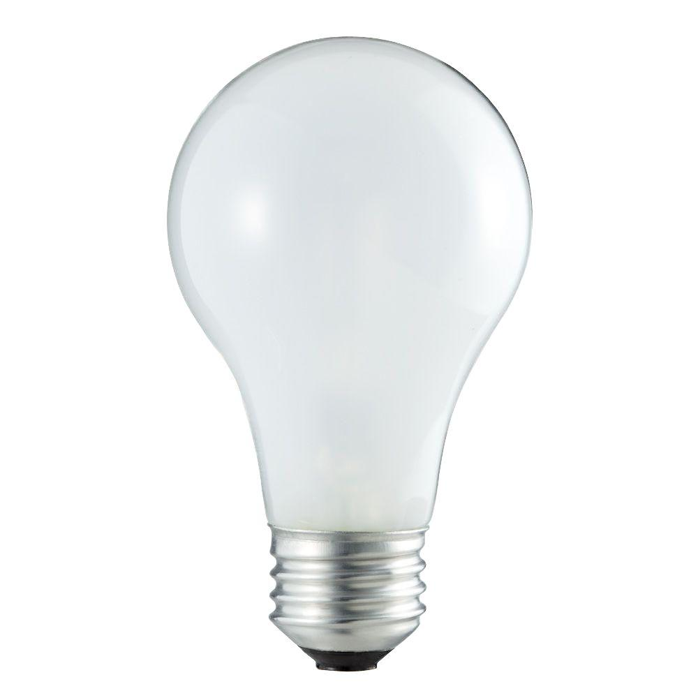 Philips 50-Watt Equivalent Halogen A19 Dimmable Light Bul...