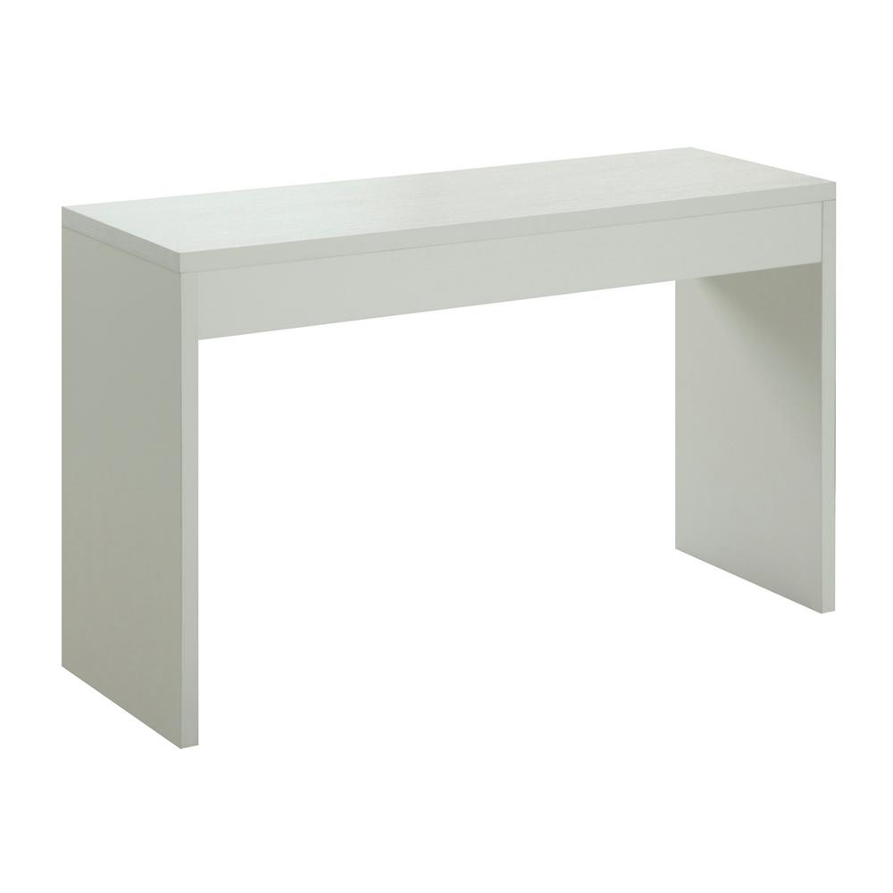 Convenience Concepts Northfield White Console Table 111091w The Home Depot