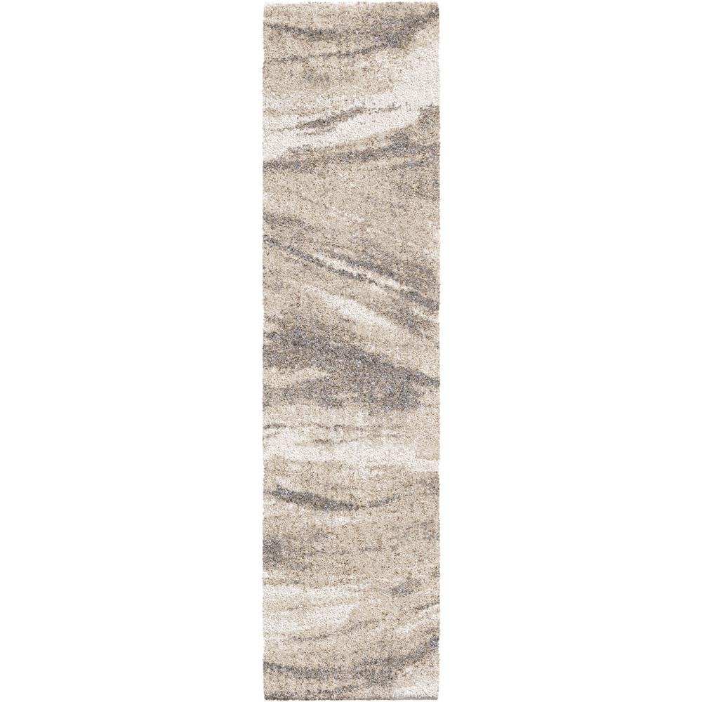 Orian Rugs Sycamore Ivory 2 ft. x 8 ft. Runner Rug