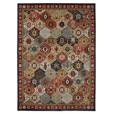 Ledford Multi 9 ft. 6 in. x 12 ft. 11 in. Indoor/Outdoor Area Rug