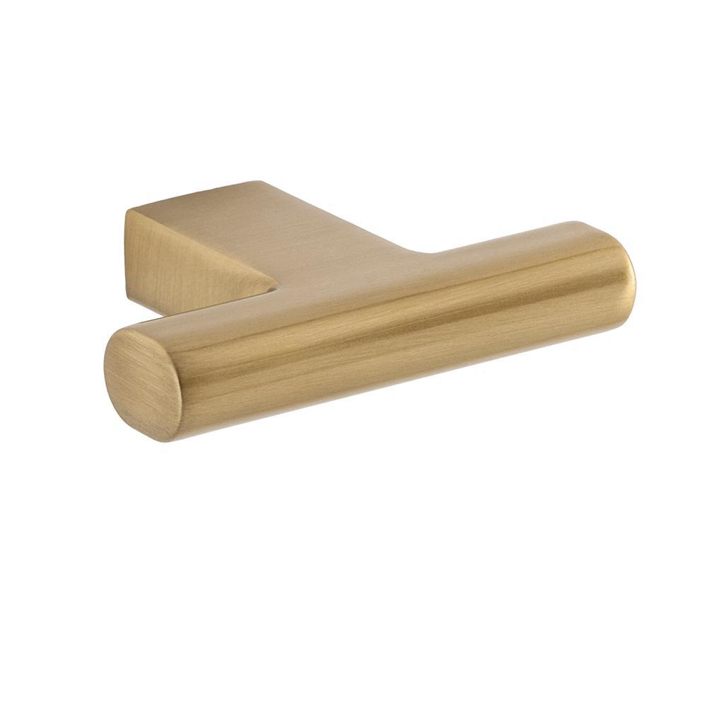 Vail 2 in. Satin Brass Cabinet Knob