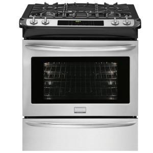 Slide In Dual Fuel Range In Smudge Proof Stainless Steel FGDS3065PF   The  Home Depot