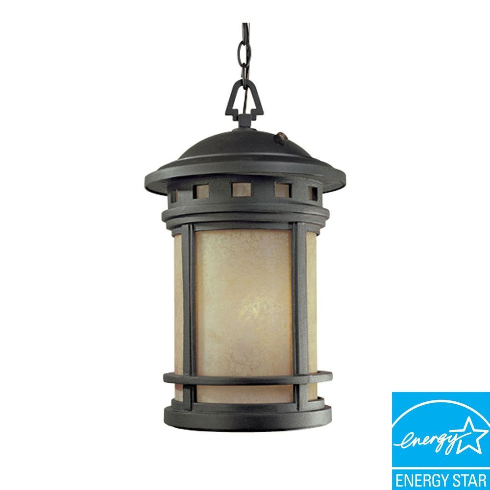 Capistrano Outdoor Hanging Oil Rubbed Bronze Lamp