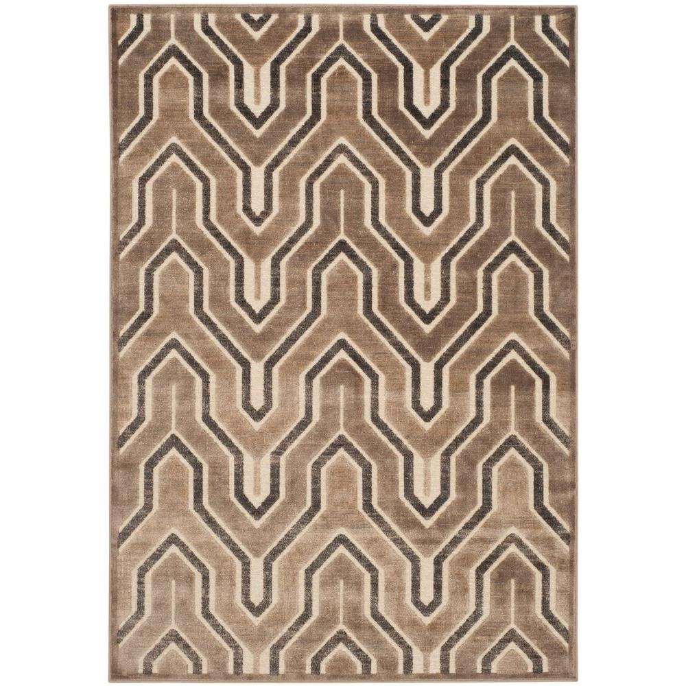 Paradise Camel/Cream 4 ft. x 5 ft. 7 in. Area Rug
