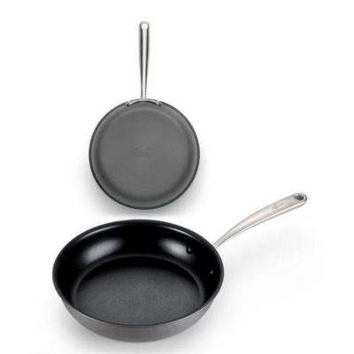 Nera 2-Piece Hard Anodized Aluminum Skillet Set