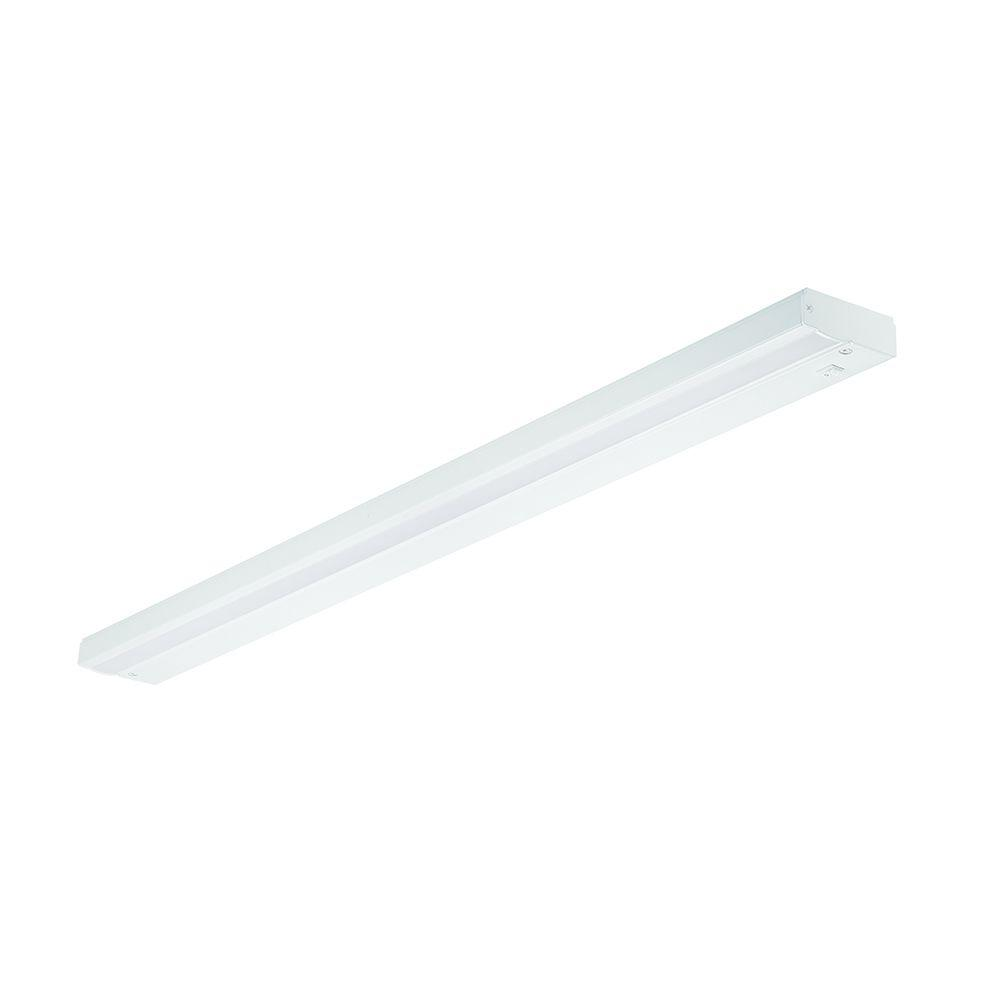 Pleasing Commercial Electric 36 In Led White Direct Wire Under Cabinet Light Interior Design Ideas Clesiryabchikinfo
