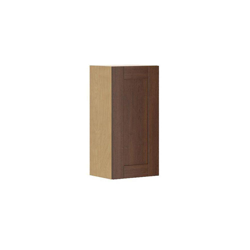 Ready to Assemble 15x30x12.5 in. Lyon Wall Cabinet in Maple Melamine