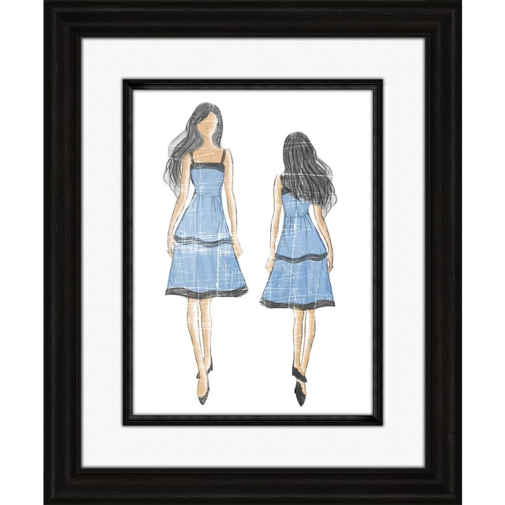 "PTM Images 35 in. x 29 in. ""Haute Couture B"" Framed Wall Art"