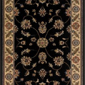 TrafficMASTER Canyon Kazmir Black 26 inch x 50 ft. Roll Rug Runner by TrafficMASTER