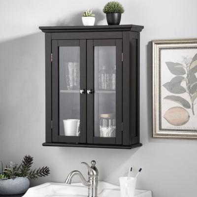 Brown Bathroom Wall Cabinets Bathroom Cabinets Storage The Home Depot