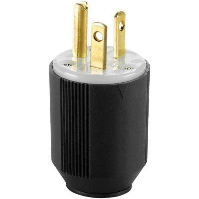 20 Amp 250-Volt 6-20 AutoGrip Plug and Connector