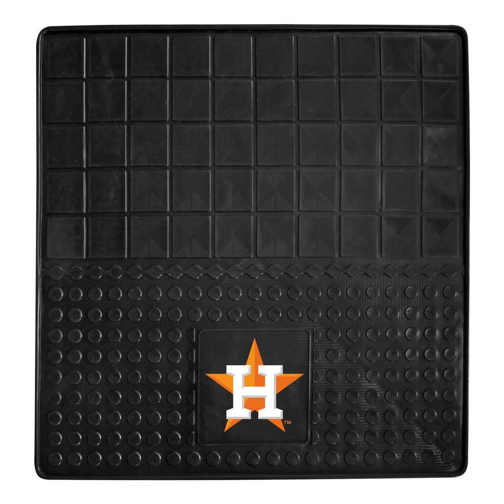 Houston Astros Heavy Duty 31 in. x 31 in. Vinyl Cargo Mat