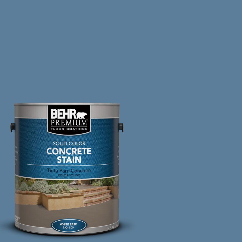 1 gal. #PFC-58 Alpine Sky Solid Color Interior/Exterior Concrete Stain