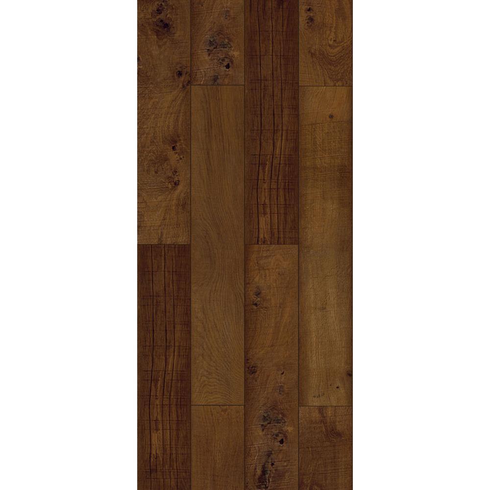 Walnut Ember Java 6 in. x 36 in. Vinyl Peel and Stick Vinyl Plank (36 sq. ft. / case)