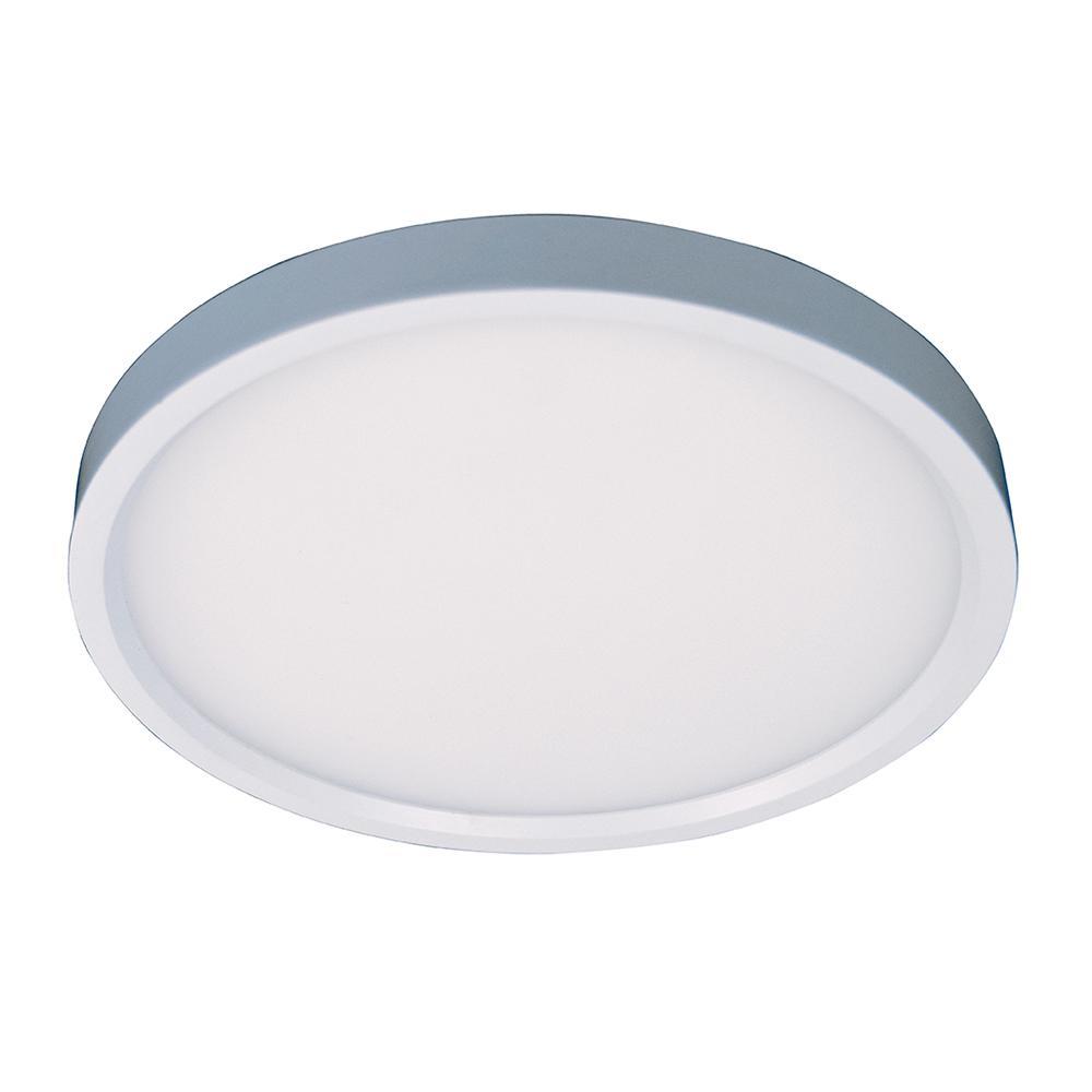 Leviton 11-Watt 5 in  Round Silver Surface Mount LED Downlight