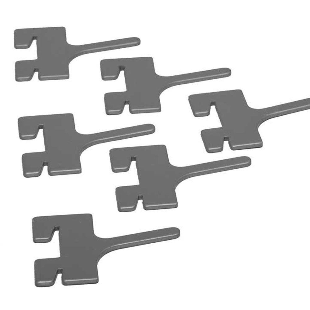 2 in. Peg Hooks (6-Pack)