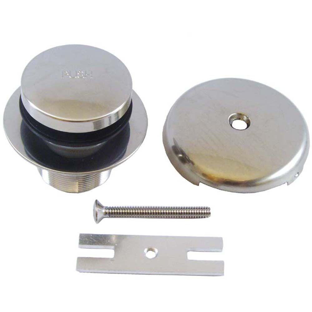 PartsmasterPro Tip Toe Trim Kit in Brushed Nickel