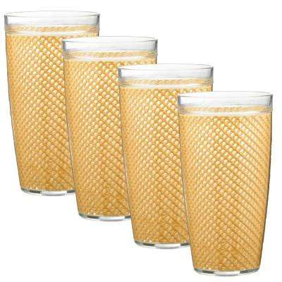 Fishnet 24 oz. Camel Insulated Drinkware (Set of 4)