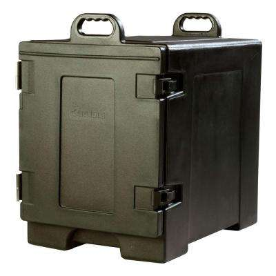 Cateraide End Loading Insulated Pan Carrier in Black