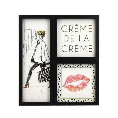 Parisian Chic Framed Gallery Wall Art