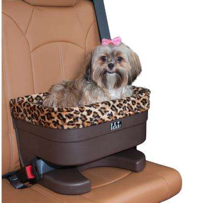 17 in. L x 12 in. W x 11 in. H Bucket Seat Booster with Jaguar Chocolate Insert