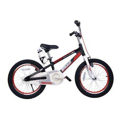 18 in. Wheels Space No. 1 Kid's Bike, Boy's Bikes and Girl's Bikes, Light Weight Aluminum in Black