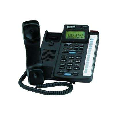Colleague 2-Line Enhanced Corded Telephone - Black