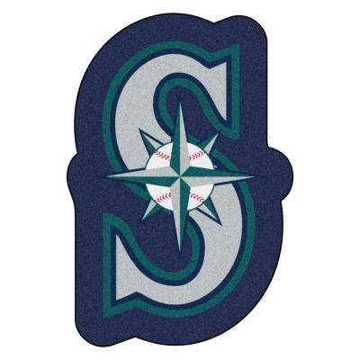 MLB - Seattle Mariners 27 in. x 40 in. Indoor Area Rug Mascot Mat