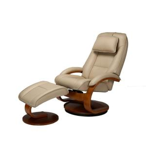 Outstanding Relax R Brampton Cobblestone Top Grain Leather Recliner With Pdpeps Interior Chair Design Pdpepsorg