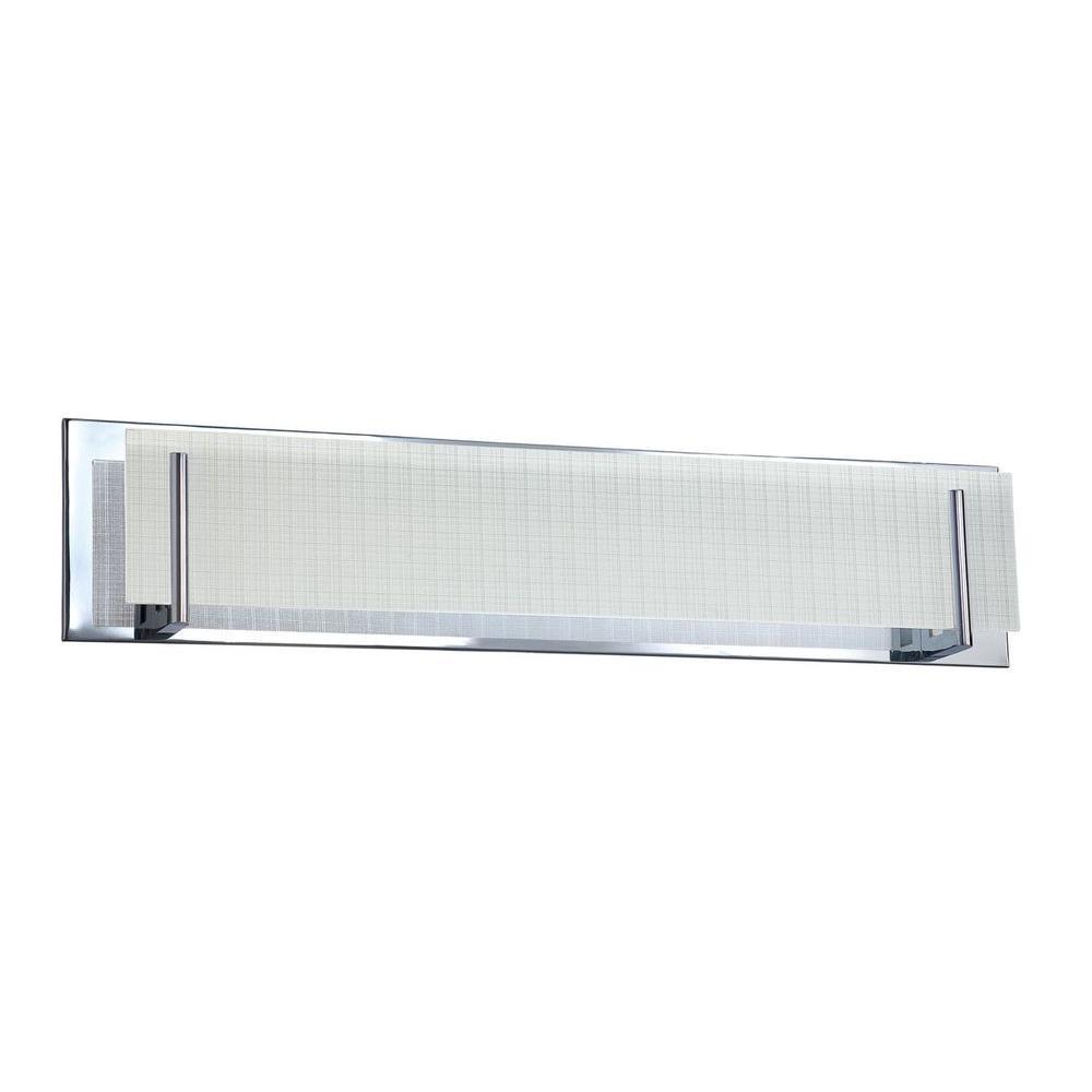 Daline 5-Light Chrome Bath Vanity Light