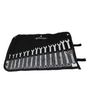 Wright Tool WrightGrip 12-Point Full Polish Combination Wrench Set (15-Piece) by Wright Tool