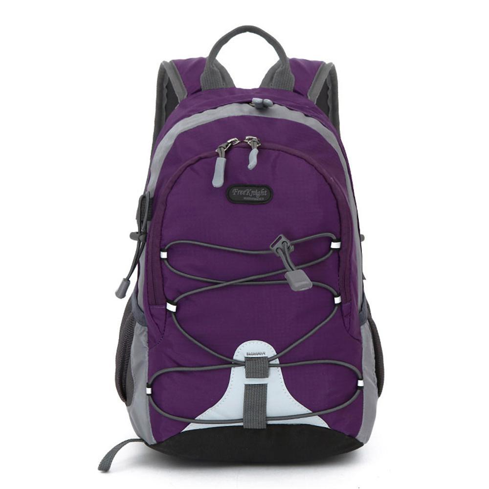 Free Knight FK0611 Waterproof Nylon Mini Sports 5 in. Purple Backpack for Kids