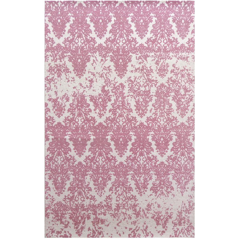 Dynamic Rugs Naples Ivory/Blush 5 Ft. X 8 Ft. Indoor Area