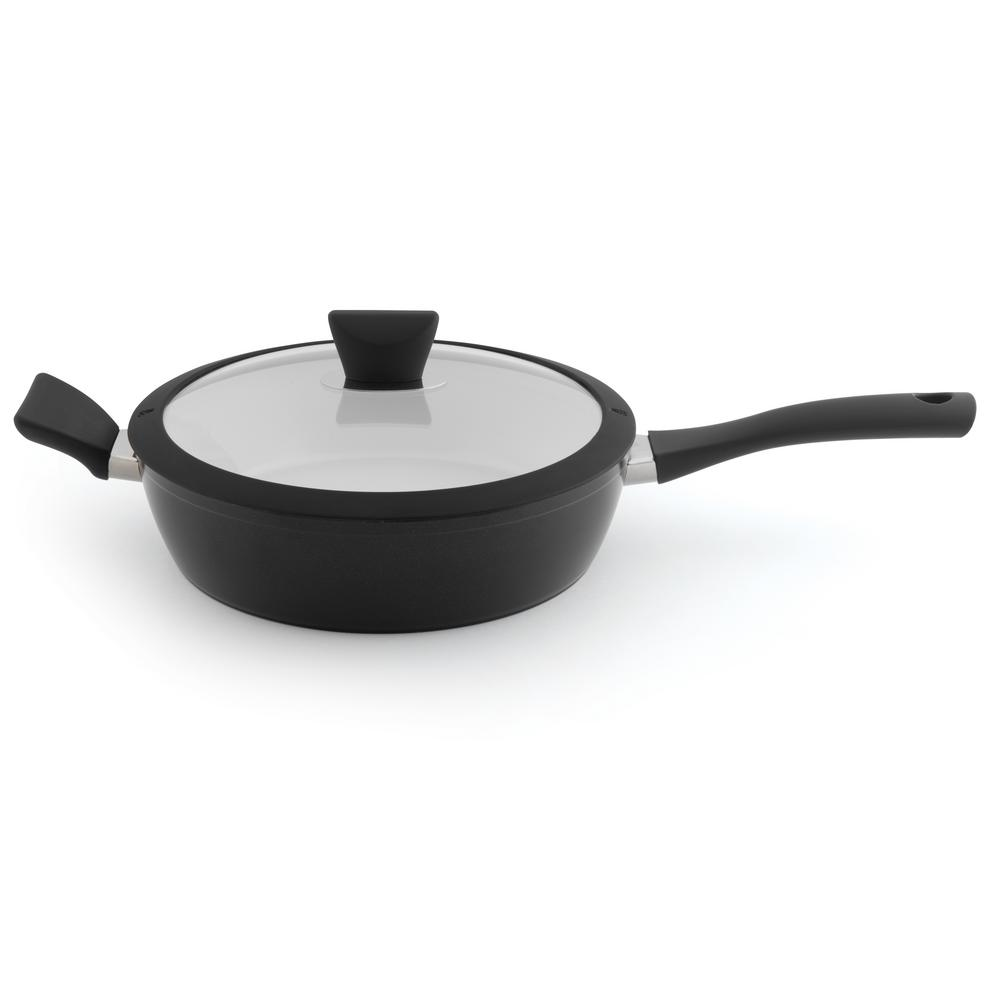 Essentials 3.5 Qt. Aluminum Non-Stick Covered Saute Pan